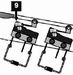 9 - Micro Switch (Roller Actuator, Lite-Force) /piece